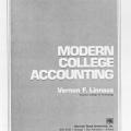 Modern College Accounting