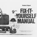 Reader's Digest Fix-It-Yourself Manual