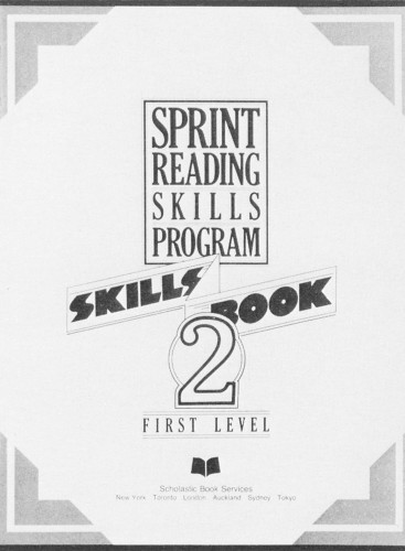 Sprint Reading Skills Program 2