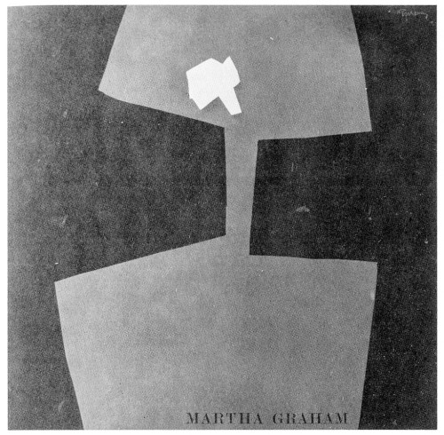 Martha Graham, program cover