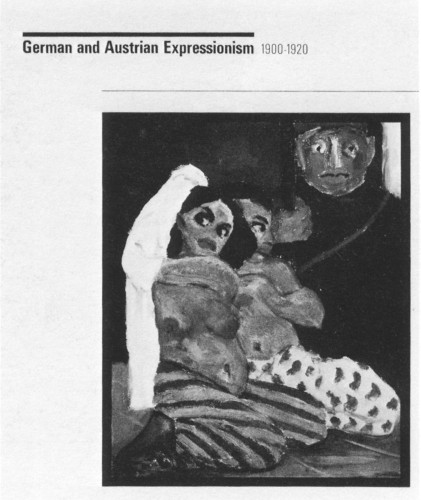 German and Austrian Expressionism: 1900-20