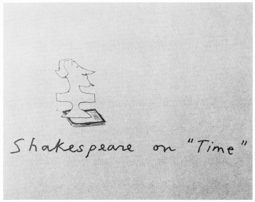"Shakespeare on ""Time"", booklet"
