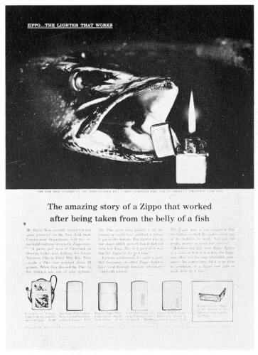 """The amazing story of a Zippo"""