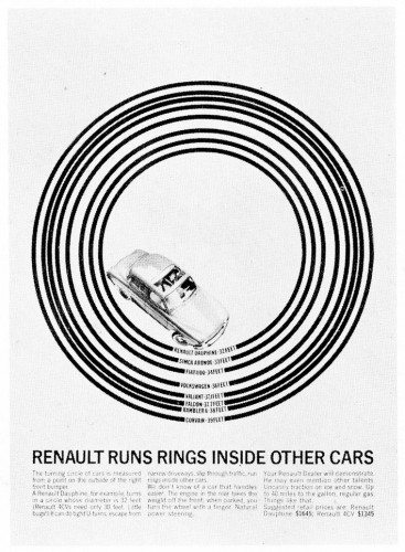 """Renault runs rings inside other cars"""