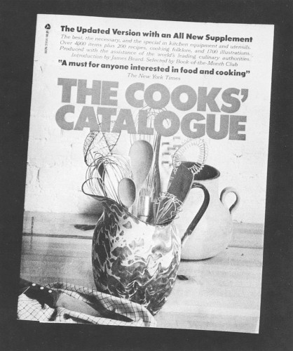 The Cook's Catalog