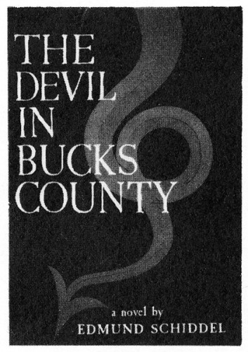 The Devil in Bucks County, book jacket