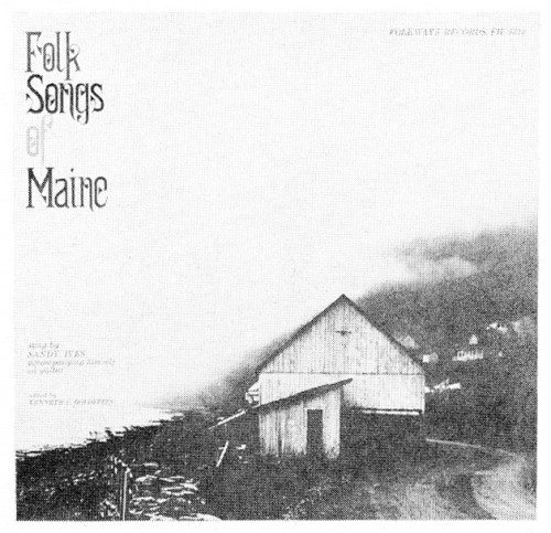 Folk Songs of Maine\, record album