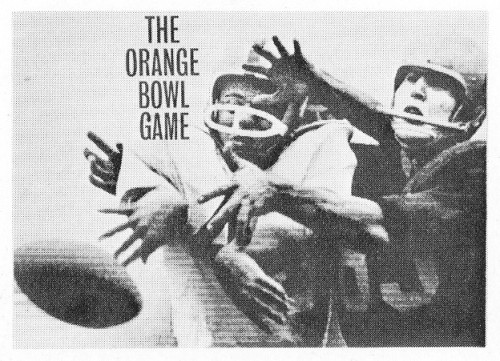 Orange Bowl, presentation cover