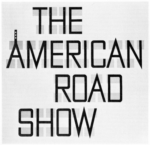 The American Road Show, poster