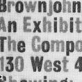 Brownjohn, Chermayeff & Geismar Composing Room, show announcement