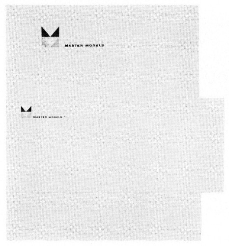 Master Models, letterhead and envelope