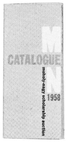 Catalogue 1958 Moholy-Nagy Scholarship Auction