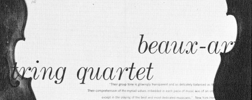 The Beaux Arts Quartet