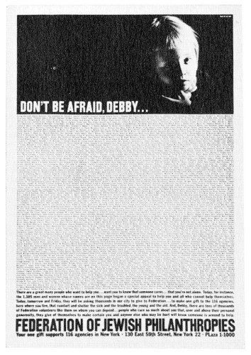 """Don't be Afraid, Debby"""