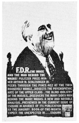 """FDR Newspaper Ad"""