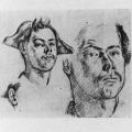 Cézanne's Portrait Drawings