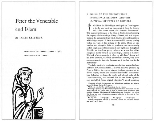 Peter the Venerable and Islam