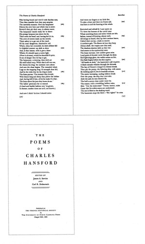 The Poems of Charles Hansford