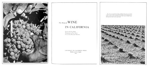 The Story of Wine in California
