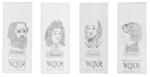 WQXR (Carlyle, Congreve, Longfellow and Shakespeare)