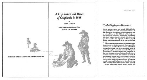A Trip to the Gold Mines of California in 1848