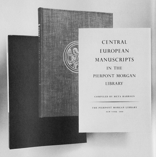 Central European Manuscripts in the Pierpont Morgan Library