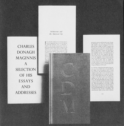 Charles Donagh Maginnis, A selection of his essays and addresses
