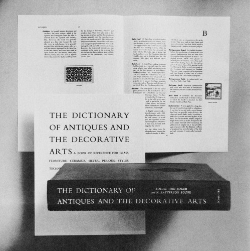 The Dictionary of Antiques and the Decorative Arts