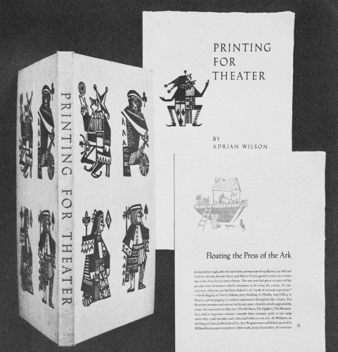 Printing For Theater