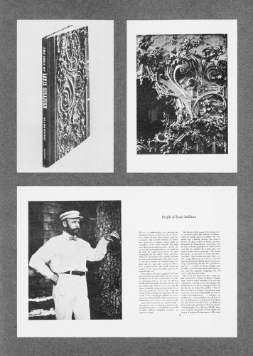 The Idea of Louis Sullivan