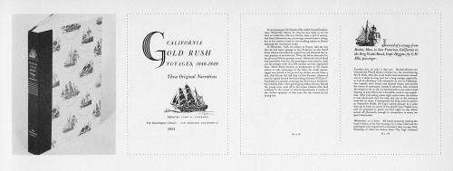 California Gold Rush Voyages
