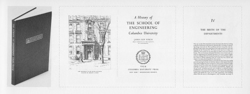 A History of the School of Engineering, Columbia University