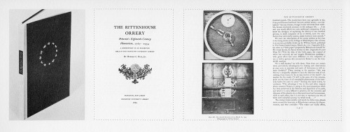 The Rittenhouse Orrery
