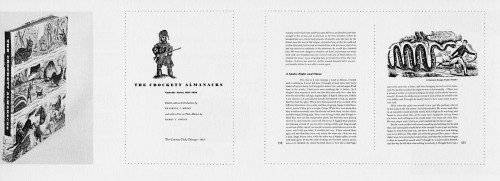 The Crockett Almanacks: Nashville Series 1835–1838