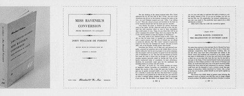 Miss Ravenel's Conversion:  From Secession to Loyalty