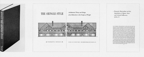 The Shingle Style: Architectural Theory and Design from Richardson to the Originals of Wright