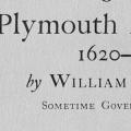 Of Plymouth Plantation 1620–1647, The complete text\, with notes and an introduction by Samuel Eliot Morison