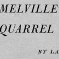 Melville's Quarrel with God