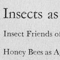 Insects: The yearbook of agriculture