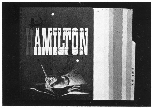 Hamilton Text and Cover Papers, sample book