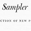 American Sampler. A Selection of New Poetry