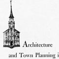Architecture and Town Planning in Colonial Connecticut