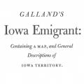 Galland's Iowa Emigrant