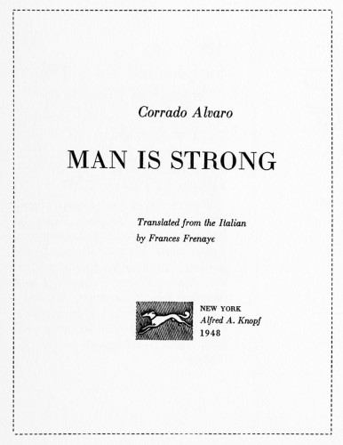 Man is Strong