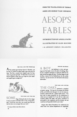 Aesop's Fables, From the translations of Thomas James and George Tyler Townsend