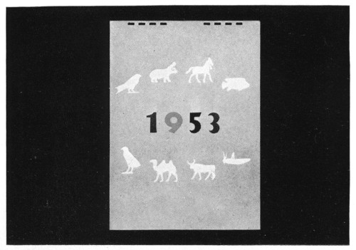 1953, A Calendar from the Oriental Institute