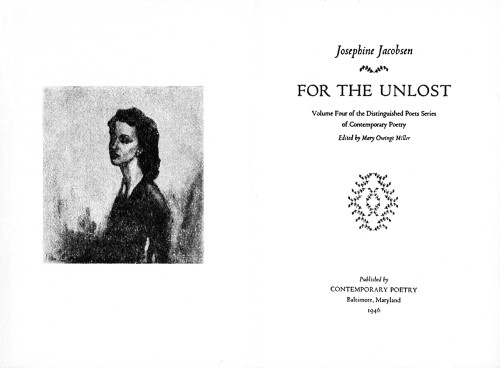 For the Unlost, vol. 4 of the series