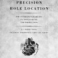 Precision Hole Location for Interchangeability in Toolmaking and Production