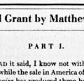 General Grant by Matthew Arnold with a Rejoinder by Mark Twain