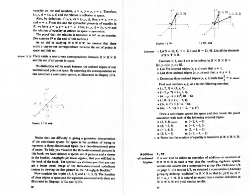 Fundamental Mathematical Structures, Linear Algebra